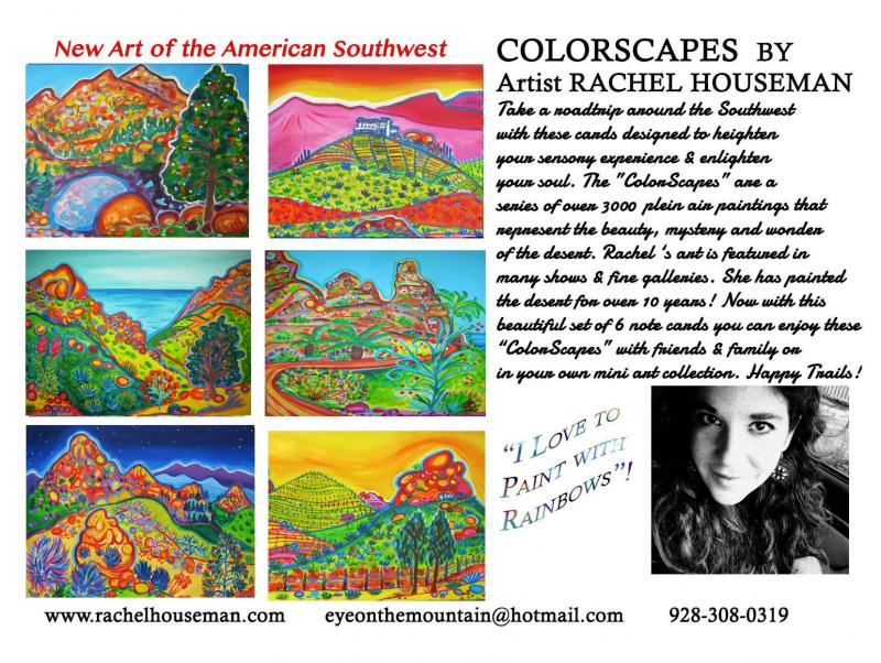 Rachel Houseman, California Cardset, Art Cards, Gift Cards, California Gift Card
