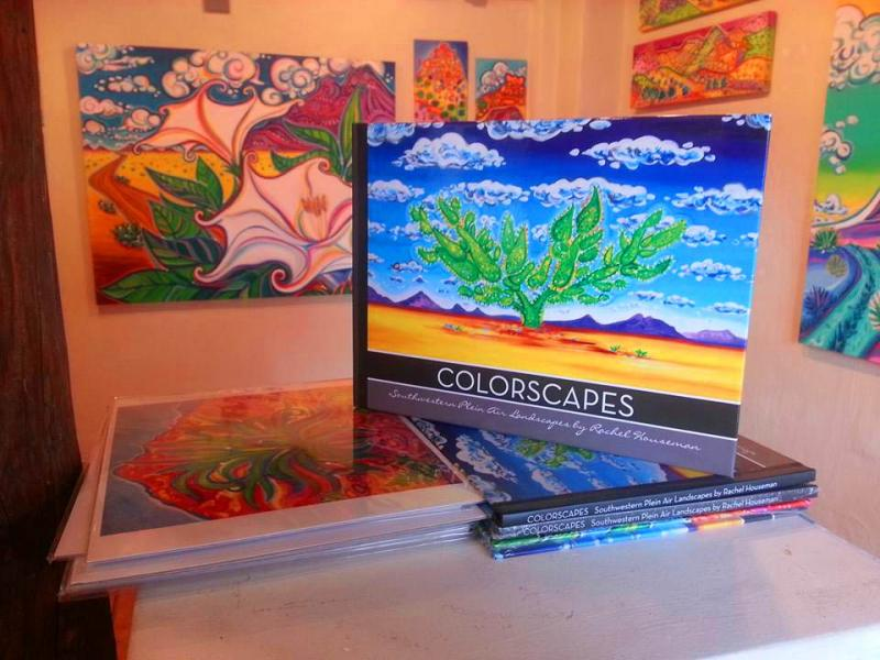 Rachel Houseman, Santa Fe Artist, Cook Book, ColorScapes, Santa Fe Art, Art Book