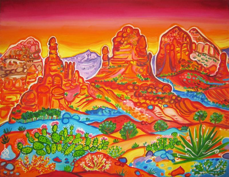 Sedona,  Jordan Trail Viewpoint,  Rachel Houseman