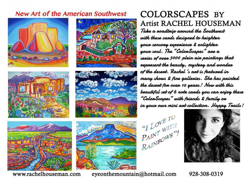 New Mexico, Cardset, Rachel Houseman, Cards, Gift Cards, ColorScapes Card Sets