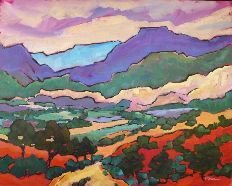 Eye on the Mountain Art Gallery, Paula Swain, Santa Fe Art Gallery
