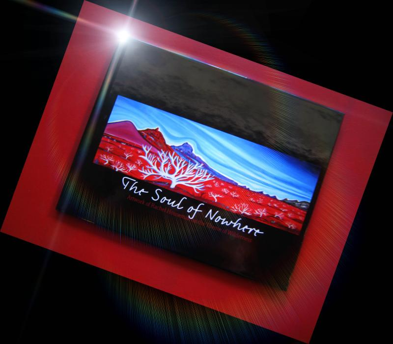 The Soul of Nowhere, Artist Book, Rachel Houseman, ColorScapes, Art Book