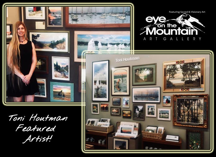 Toni Houtman, Artist, Eye on the Mountain Art Gallery, Lakeshore Art, Art, Arts
