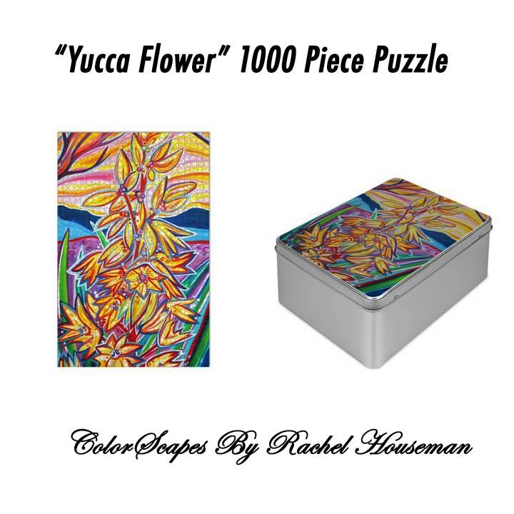 Rachel Houseman, Art Puzzle, 1000 Piece Puzzle, Art Gift, ColorScapes Fine Art